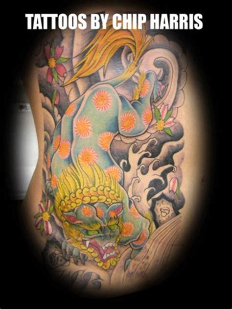 lucky tattoo studio bandung lucky 7 tattoo studio tattoos chip harris fu dog