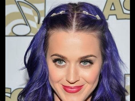 how to get osbournes haircolor katy perry vs kelly osbourne purple hair edition youtube