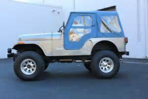 Jeep Soft Top For Sale 1981 Jeep Cj 1981 Jeep Cj5 Soft Top Defender Bronco K5