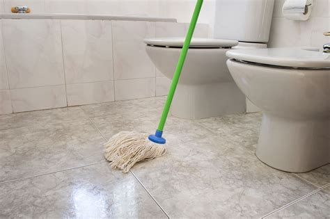 how to mop a bathroom floor how to clean your bathroom in 9 easy steps