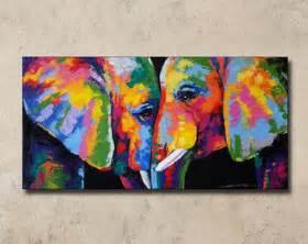 Gender Neutral Bedroom Ideas - elephant painting etsy