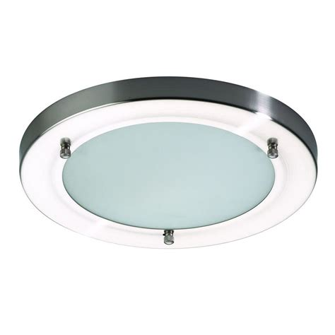 stainless steel bathroom lights mari bathroom ceiling large flush light stainless steel