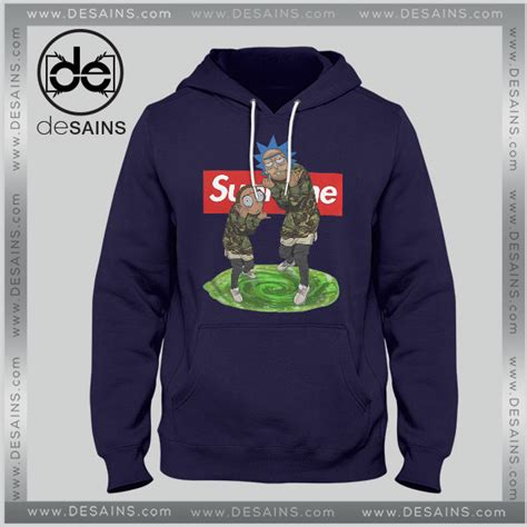 supreme cheap cheap graphic hoodie rick and morty supreme on sale