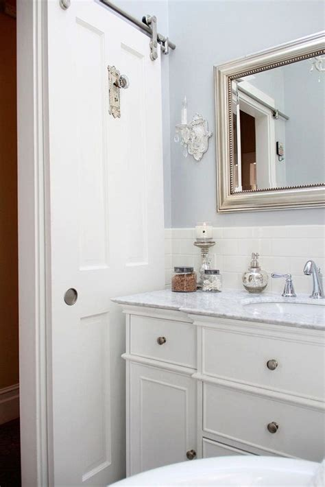Door Ideas For Small Bathroom by 17 Insanely Clever Small Bathroom Hacks To Make It Larger
