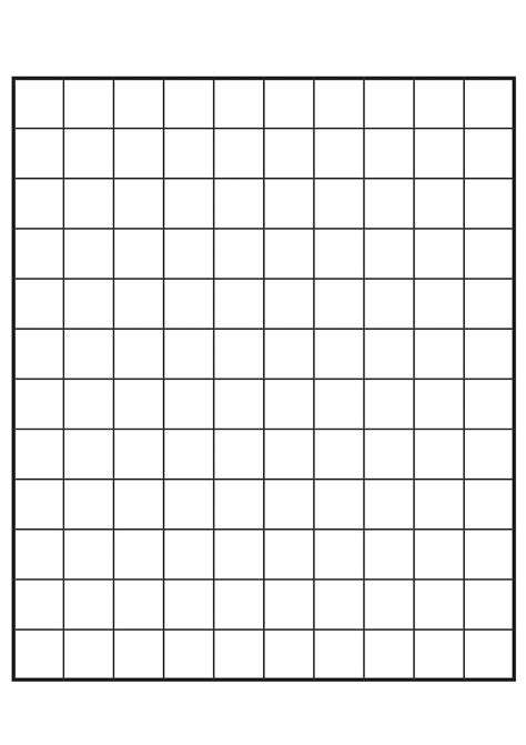empty grid worksheet empty number grid wosenly free worksheet