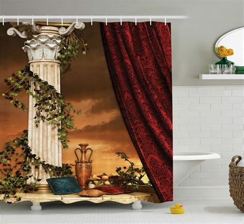 shower curtain no liner needed shower curtain is printed on 100 woven polyester