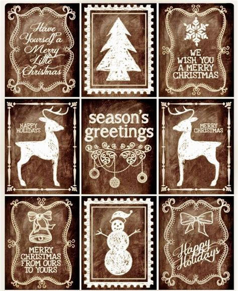 printable christmas tags rustic pin by leigh anne lindsey on christmas pinterest
