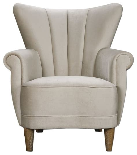 retro classic white accent chairs retro modern white velvet wing chair traditional
