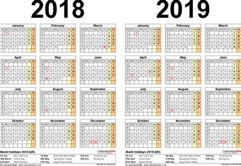 2018 free printable calendar opnlp co