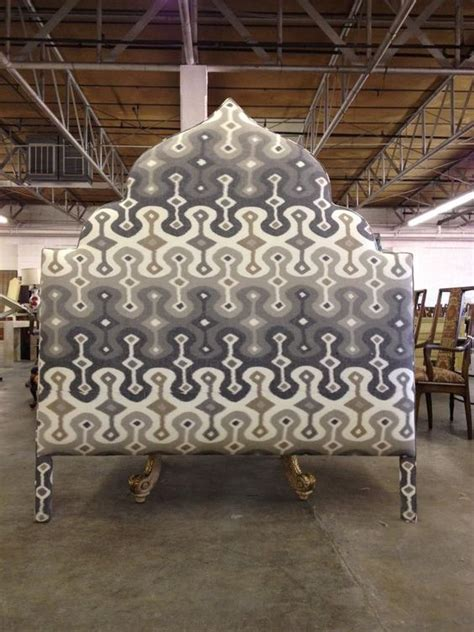 Morrocan Headboard by Custom Moroccan Style Upholstered Headboard By Again
