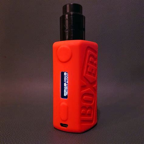 Boxer Mod Classic Yihi75w Silicone Protective Sleeve boxer mod v2 yihi200w silicone outer shell vaper