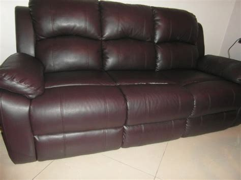 3 Seater Faux Leather Sofa For Sale In Carrigtwohill Cork
