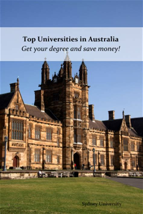 Top Mba Colleges In Brisbane Australia by Top Universities In Australia For Americans A Less Costly