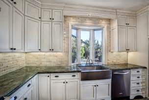 tile kitchen cabinets classic white kitchen with subway tile griffin custom