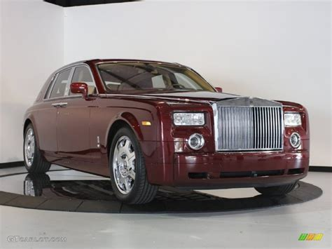rolls royce black ruby 2009 madeira red rolls royce phantom sedan 61345723 photo