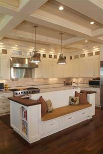 Kitchen Island With Built In Seating 19 Must See Practical Kitchen Island Designs With Seating Amazing Diy Interior Home Design