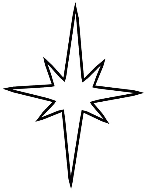 coloring page of the christmas star coloring pages star coloring home