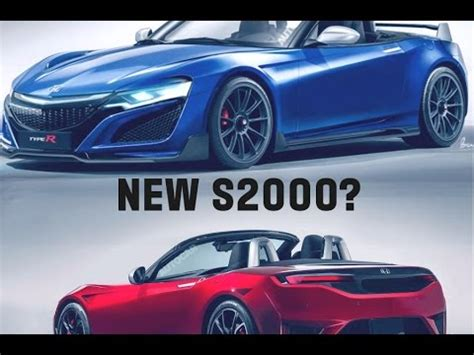 2019 Honda Sports Car by 2019 Honda S2000 Honda S New Sports Car New S2000