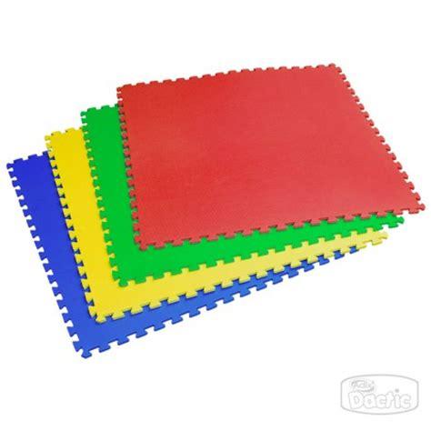 alfombras goma eva dactic 174 set de alfombras goma eva 4 piezas 4 colores 120cm