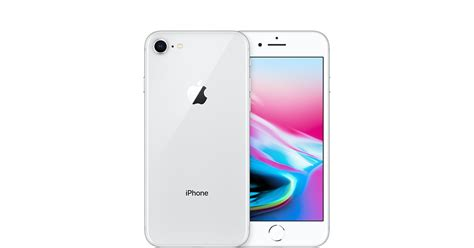 apple iphone 8 iphone 8 64gb silver gsm t mobile apple