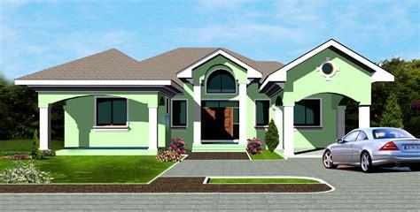 ghanaian house plans ghana house plans ohene house plan