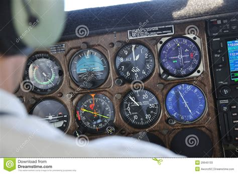 aircraft instrument panel lighting all you need to know stock photos image 29945133