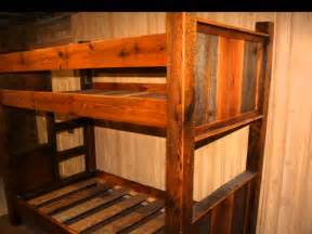 Rustic Bunk Bed Rustic Bunk Beds