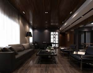 Modern Minimalist Interior Design Modern Amp Minimalist Interior Design With Dark Nuances