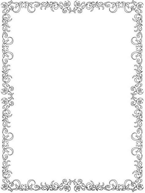 coloring pages of flower borders 12 garden flowers printable coloring pages for adult
