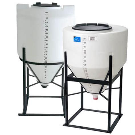 plastic inductor tank inductor cone bottom bulk storage tanks u s plastic corp