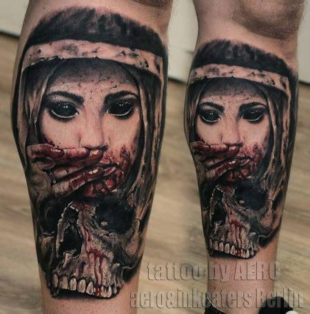 skull joker tattoo vorlagen aero and inkeaters d 228 monische nonne tattoos von tattoo
