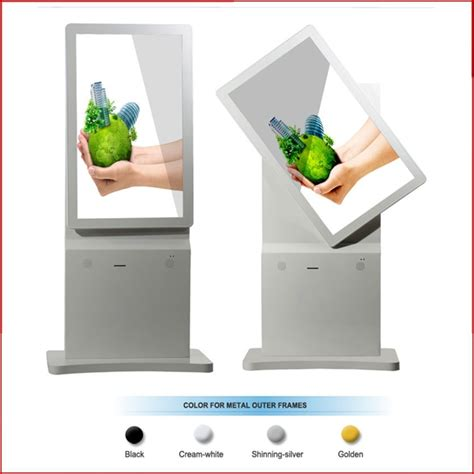 Lcd Touchscreen Mito A250 Frame 32 quot 42 quot 46 quot rotating lcd stand alone digital signage advertising display purchasing souring