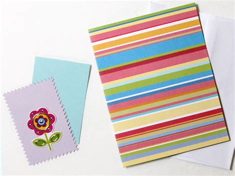 Handmade By Stickers For Cards - and easy handmade greeting cards loulou downtown