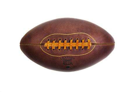 Handmade Leather Football - leather handmade football