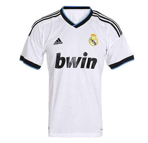 Jersey Real Madrid Home 20122013 Leaked New Real Madrid Jersey 2012 2013 Real Madrid Home