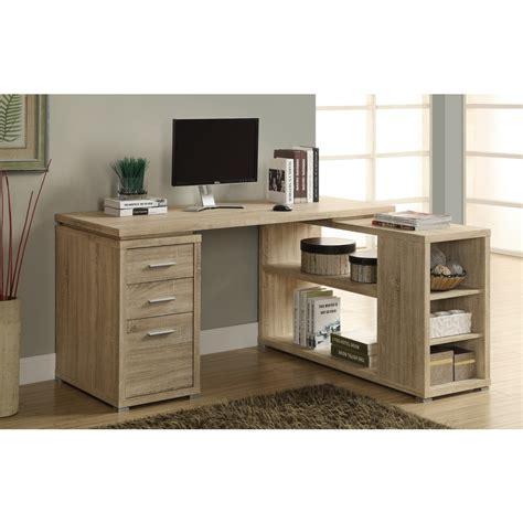 Monarch Corner Desk Monarch Specialties I 7219 Reclaimed Look Left Or Right Facing Corner Desk