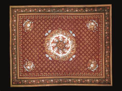 tappeti aubusson francesi i tappeti di aubusson antico in vetrina