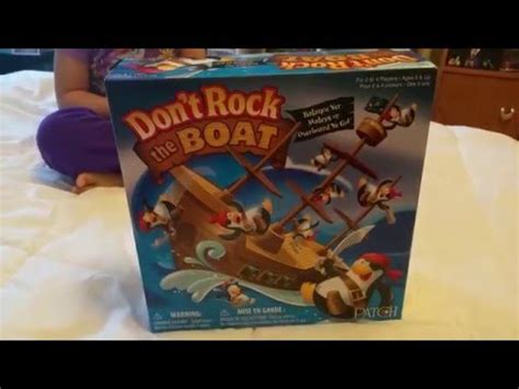 don t rock the boat toys r us don t rock the boat game youtube