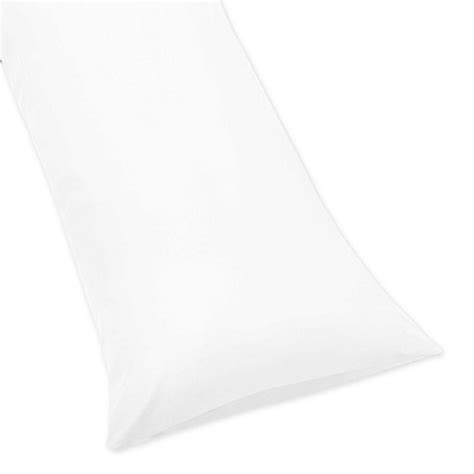 pregnancy pillow bed bath and beyond sweet jojo designs maternity body pillow case in white
