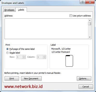 membuat kartu nama dengan word 2013 cara design kartu nama dengan microsoft word network biz id