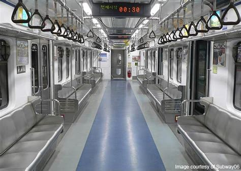Metro Interiors by Seoul Subway Song From Korea With