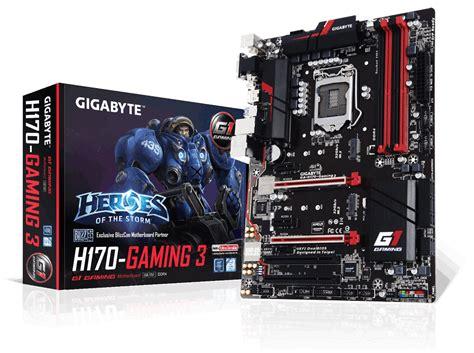 Motherboard Gigabyte Ga Gaming B8 Soc 1151 gigabyte h170 gaming 3 socket lga 1151 atx motherboard