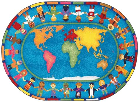 rugs of the world around the world rug world map classroom carpet