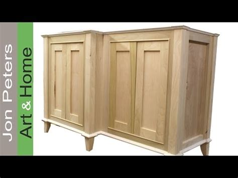 How To Build A Bathroom Cabinet by How To Build A Bathroom Vanity Cabinet Part 2