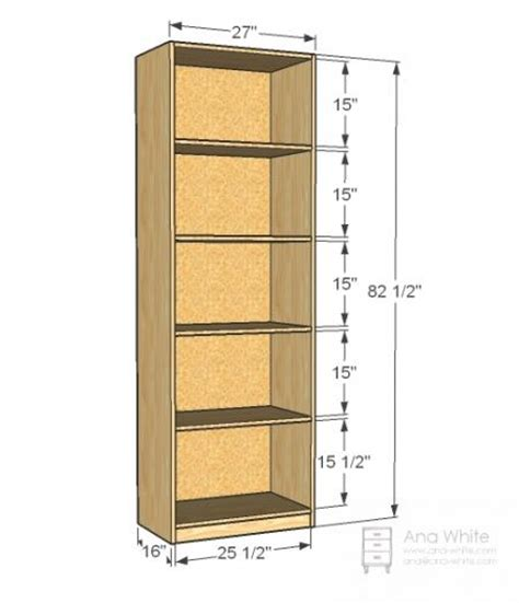 Closet Shelving Dimensions by White Build A Simple Closet Organizer Free And