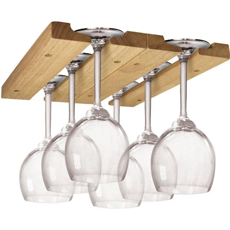 Wineglass Racks by Wooden Wine Glass Rack In Wine Glass Racks