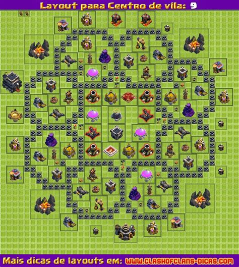 layout hibrido cv 8 4 morteiros layouts para clash of clans cv 9 atualiza 231 227 o 4