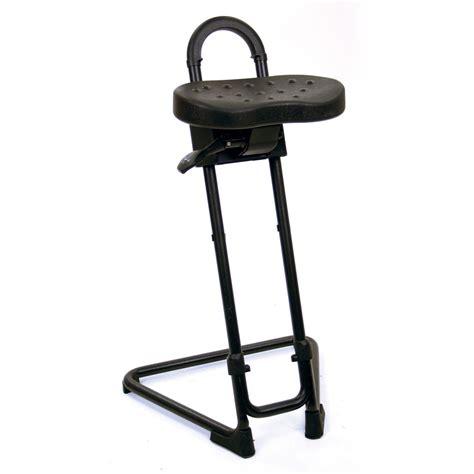 lyon ergonomic industrial sit stand stool