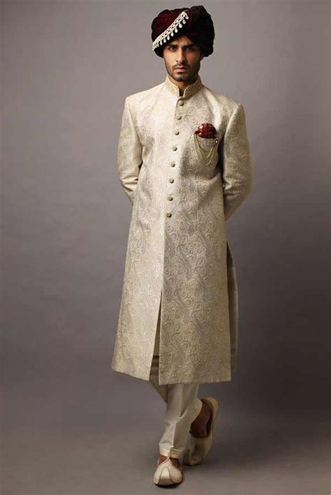 Wedding Sherwani Designs For Groom Barat In 2019   Latest