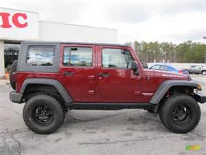 2007 jeep wrangler unlimited rubicon 4x4 custom wheels